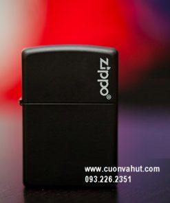 Zippo Black Matte 218zl